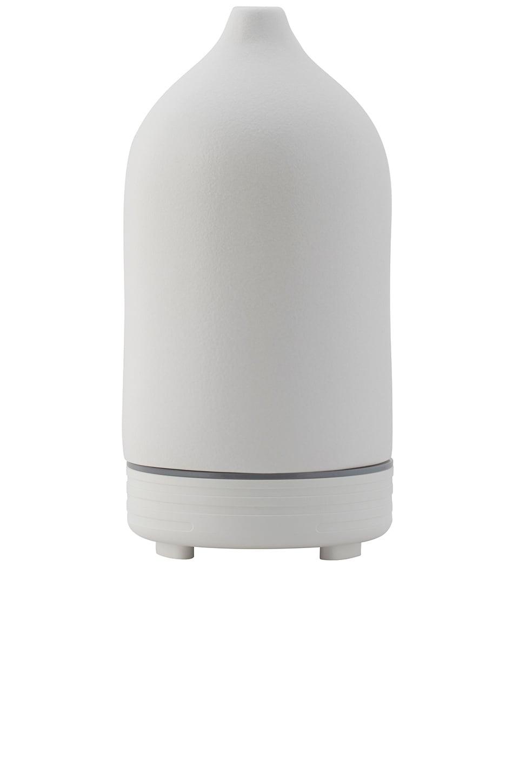 CAMPO Ceramic Ultrasonic Essential Oil Diffuser in White