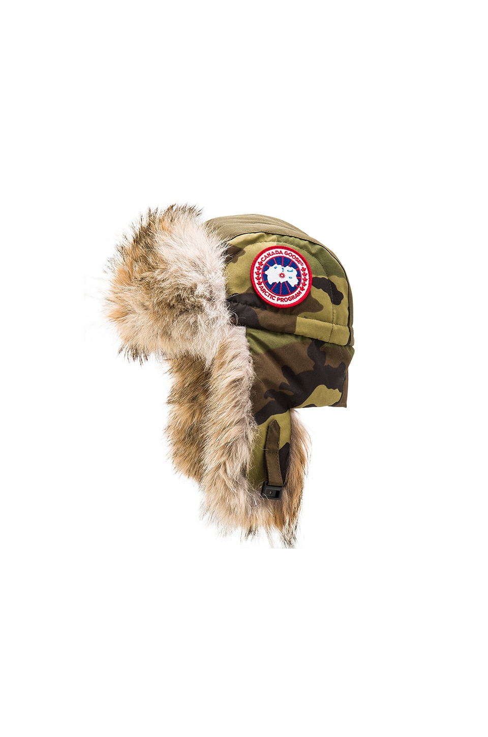 Aviator Coyote Fur Trim Hat by Canada Goose