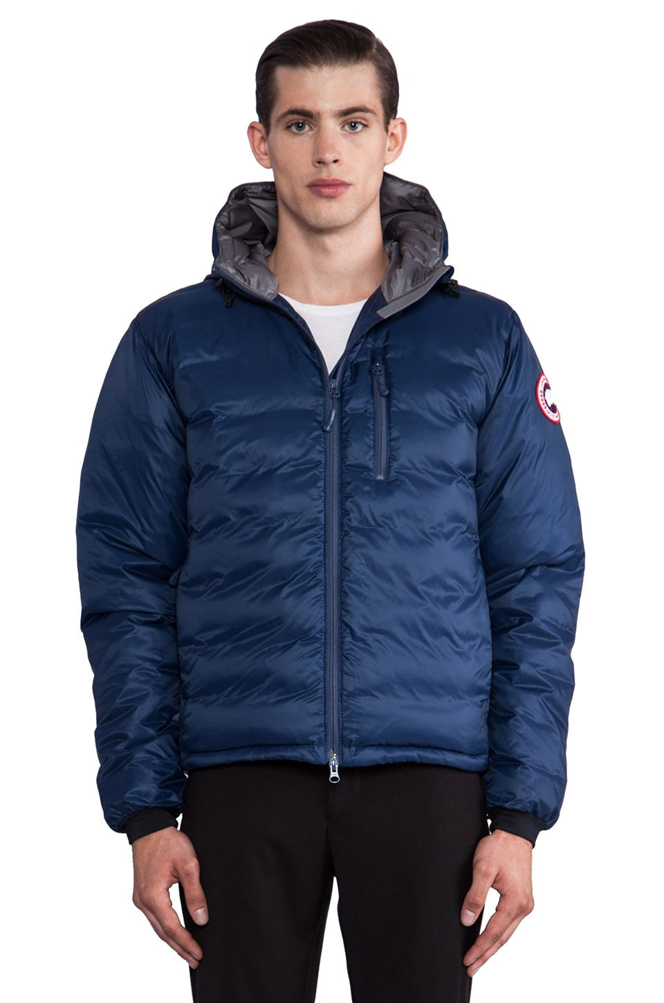 Canada Goose parka replica official - Canada Goose Lodge Hoody in Spirit Discontinued | REVOLVE