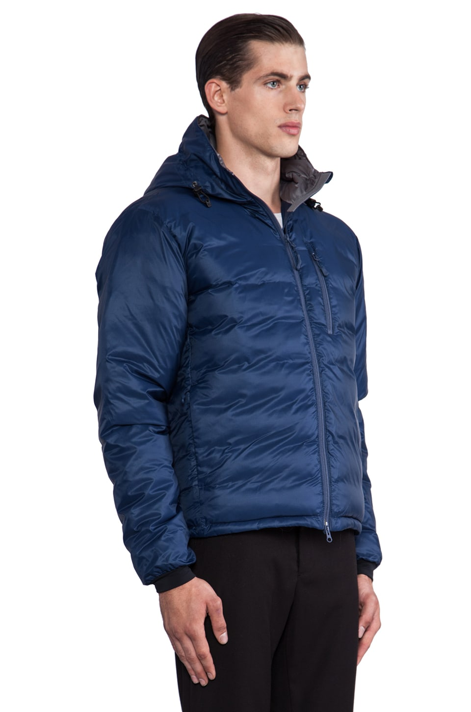 Canada Goose jackets replica 2016 - Canada Goose Lodge Hoody in Spirit Discontinued | REVOLVE