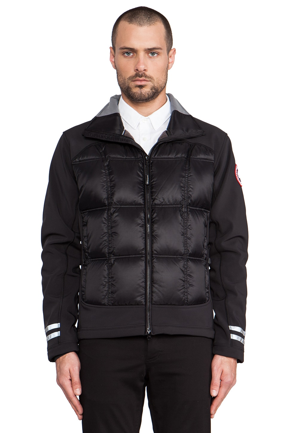 Canada Goose Hybridge Jacket in Black
