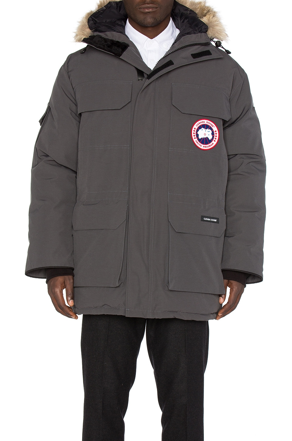 Expedition Coyote Fur Trim Parka by Canada Goose