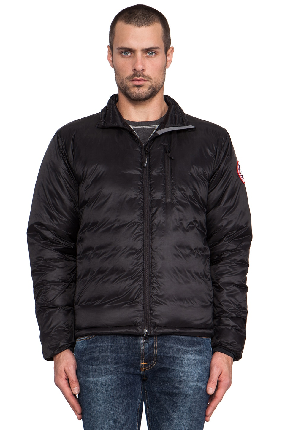 Canada Goose Lodge Jacket in Black