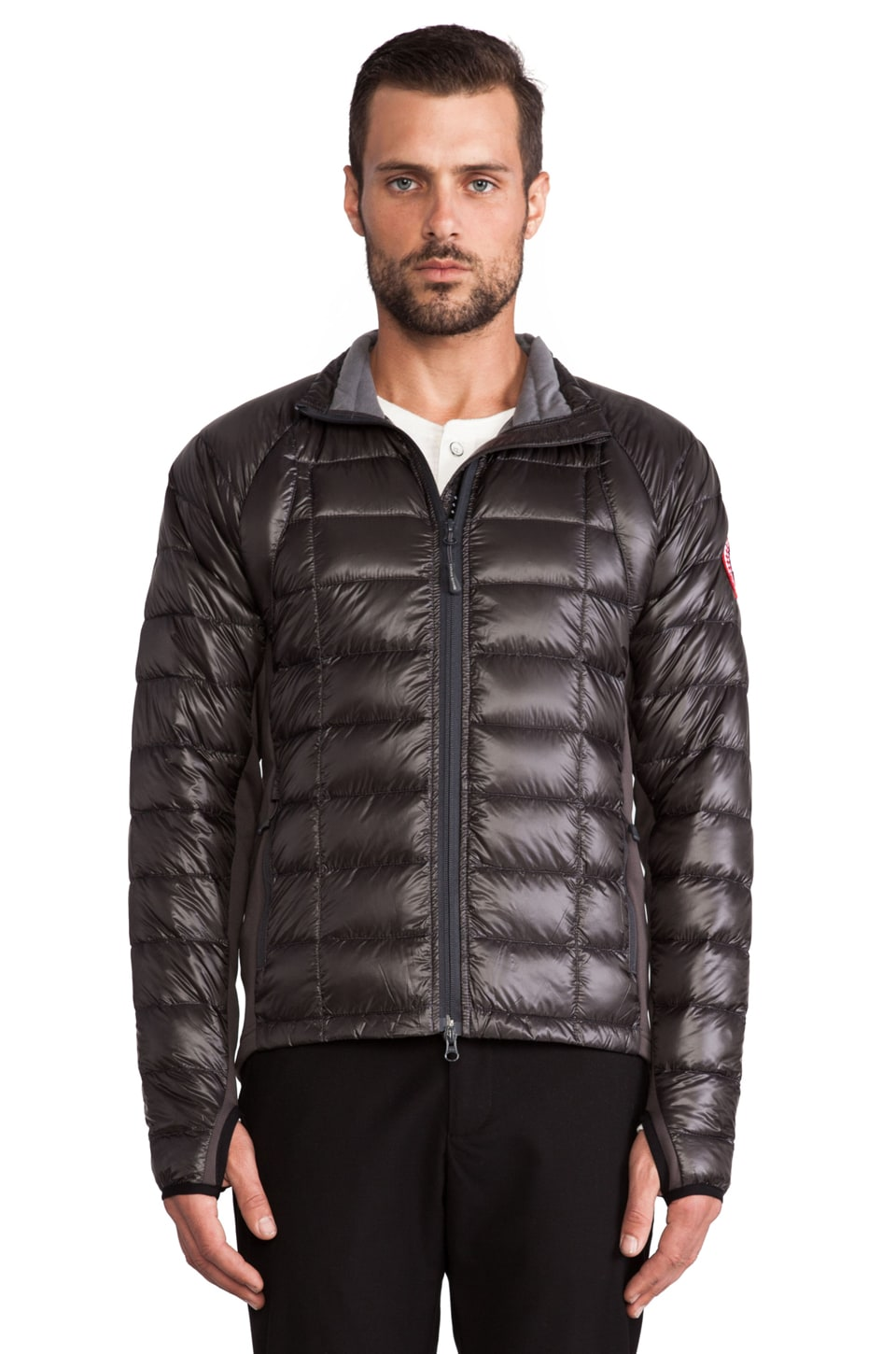 Canada Goose Hybridge Lite Jacket in Graphite