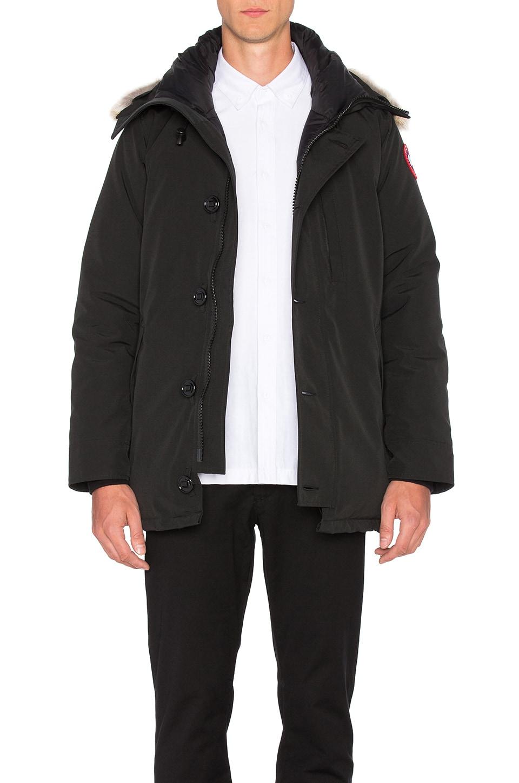 canada goose the chateau jacket black