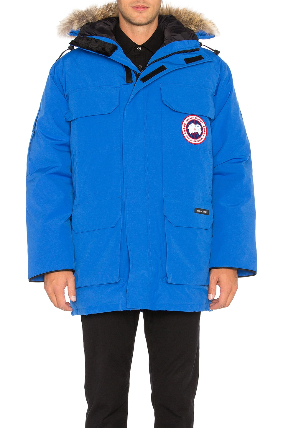 Polar Bears International Expedition Coyote Fur Trim Parka by Canada Goose