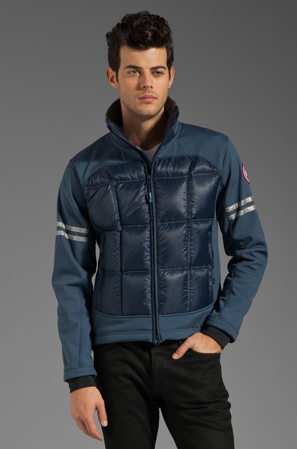 Canada Goose Discontinued Style Hybridge Jacket in Spirit