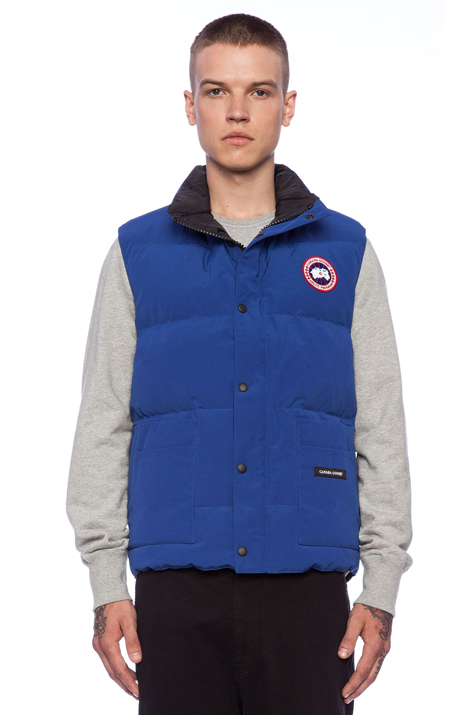 Canada Goose chateau parka outlet official - Canada Goose Freestyle Vest in Pacific Blue Discontinued | REVOLVE