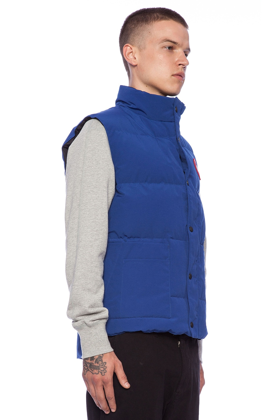 Canada Goose kids sale store - Canada Goose Freestyle Vest in Pacific Blue Discontinued | REVOLVE