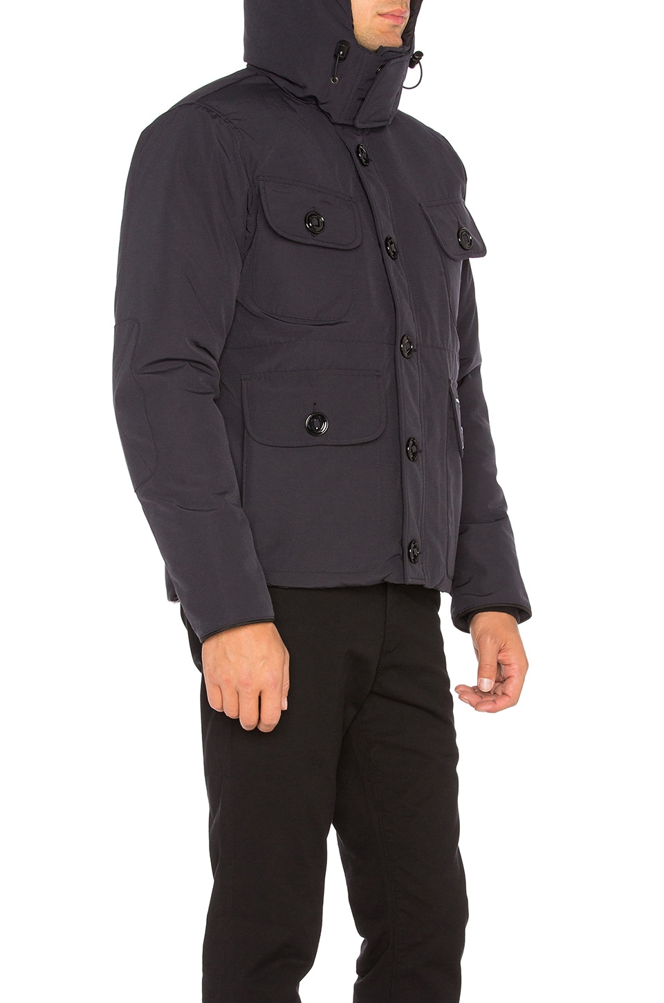 Canada Goose jackets replica store - Canada Goose Selkirk Parka in Navy | REVOLVE