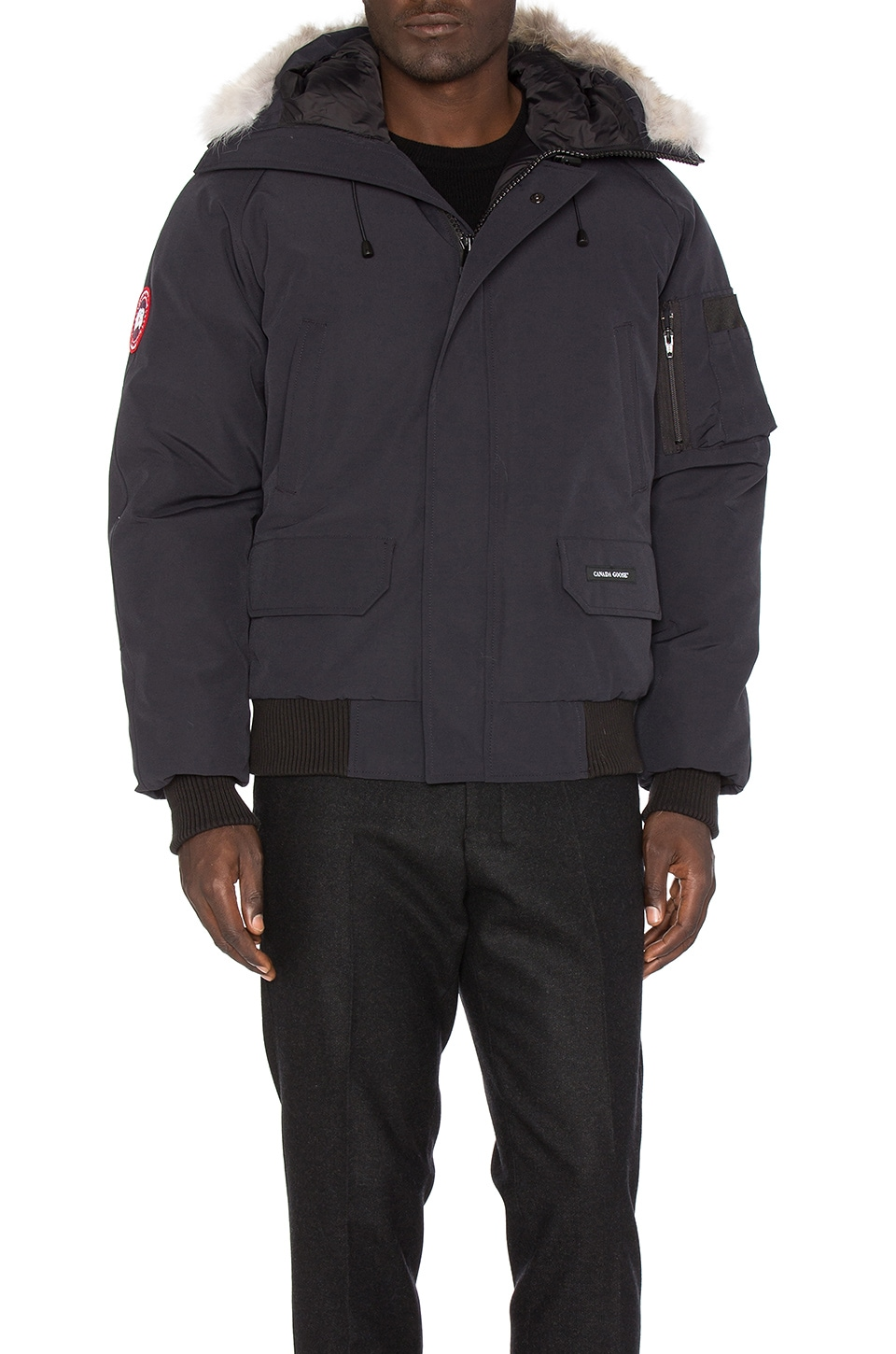 Chilliwack Bomber with Coyote Fur by Canada Goose