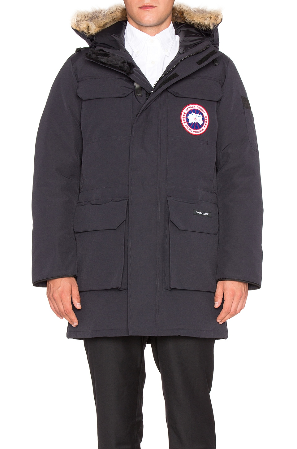 Citadel Coyote Fur Trim Parka by Canada Goose