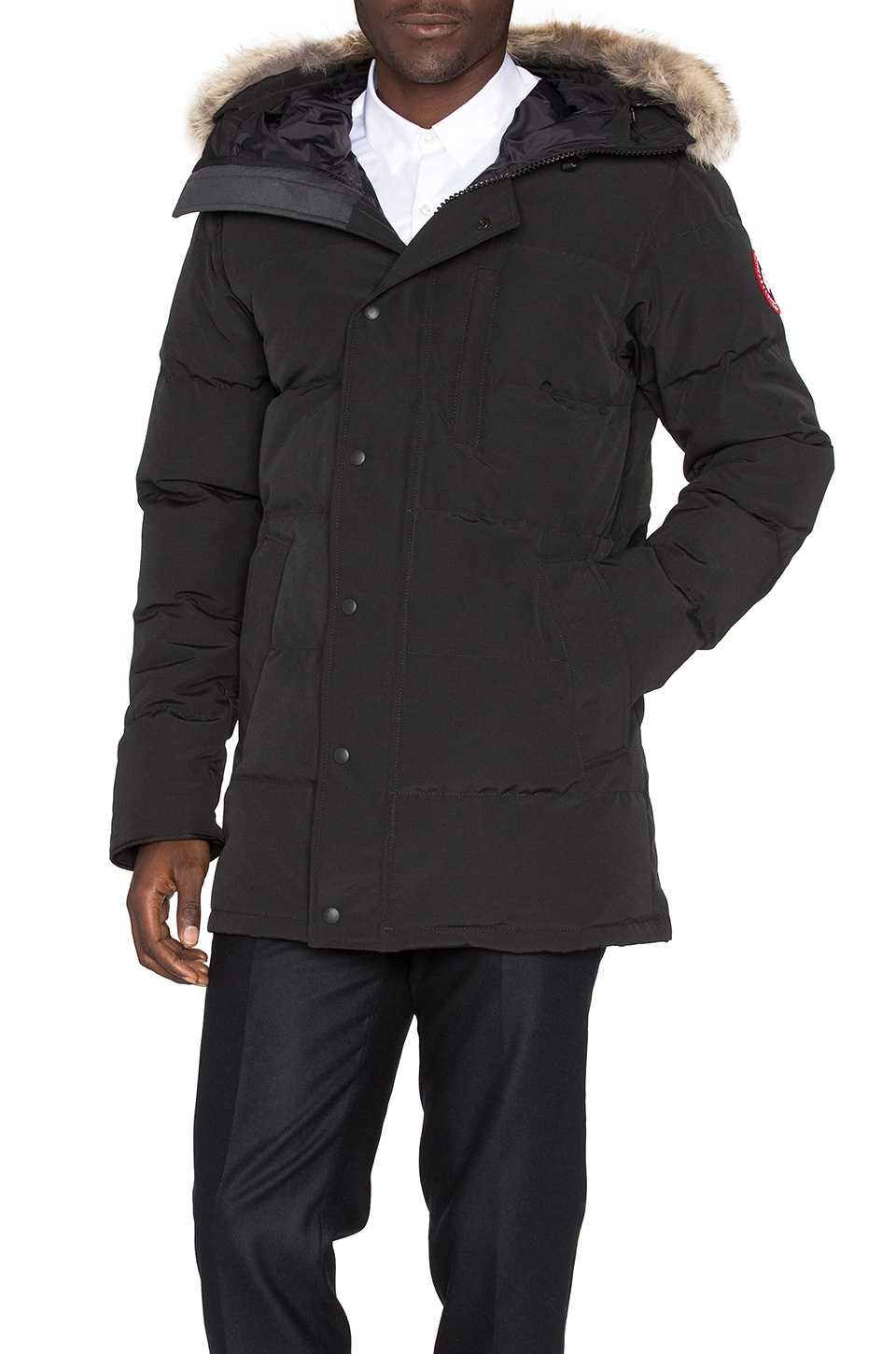 Carson Parka with Coyote Fur Trim by Canada Goose