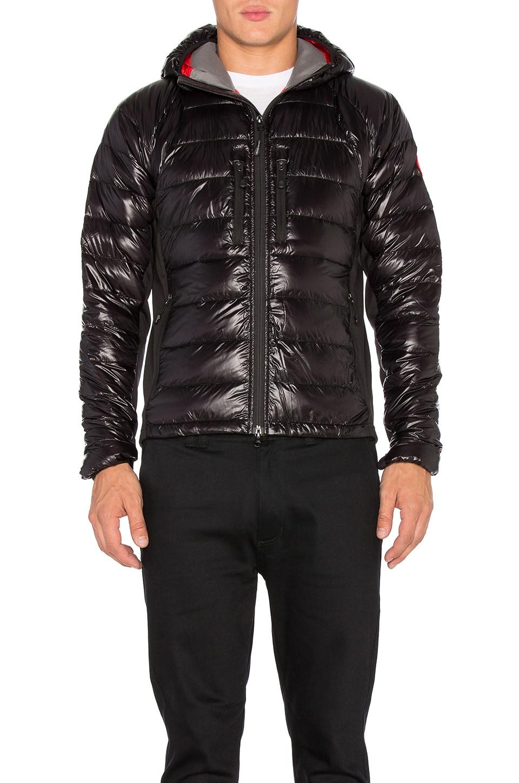 Canada Goose Ladies Hybridge Jacket (Black, Large) by Canada