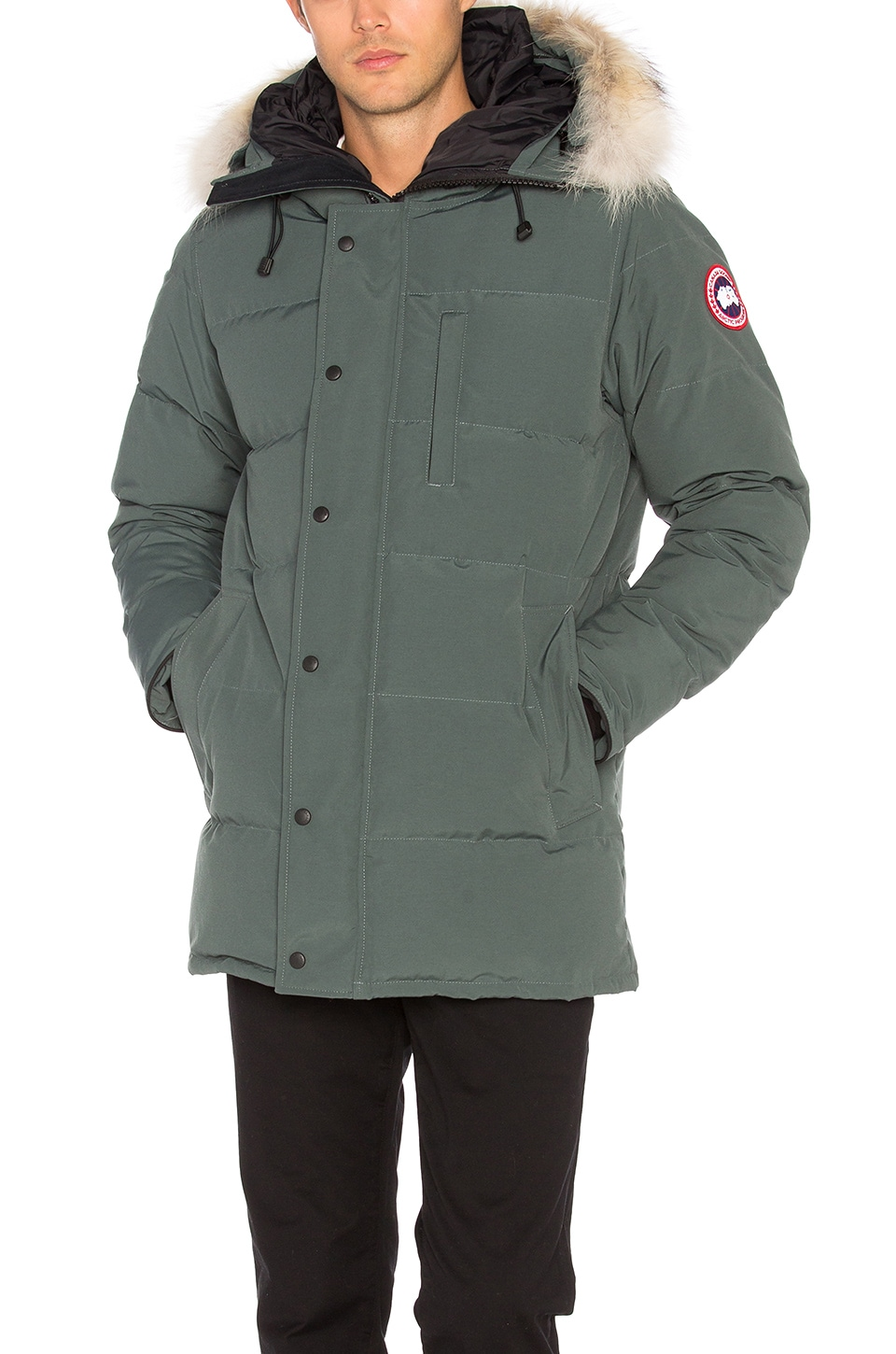 Carson Coyote Fur Trim Parka by Canada Goose