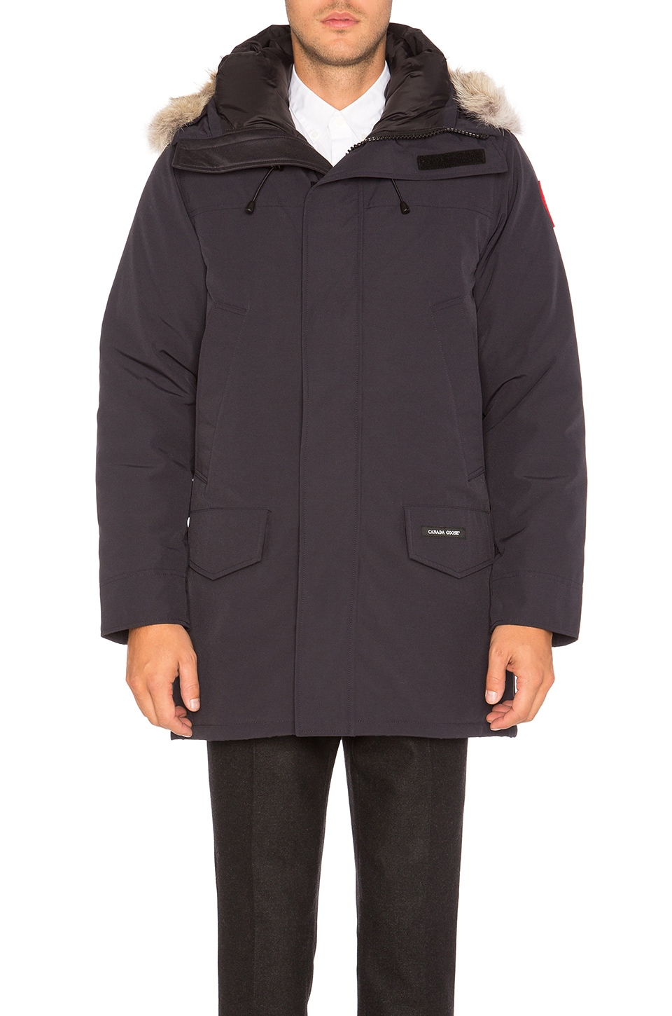 Langford Coyote Fur Trim Parka by Canada Goose
