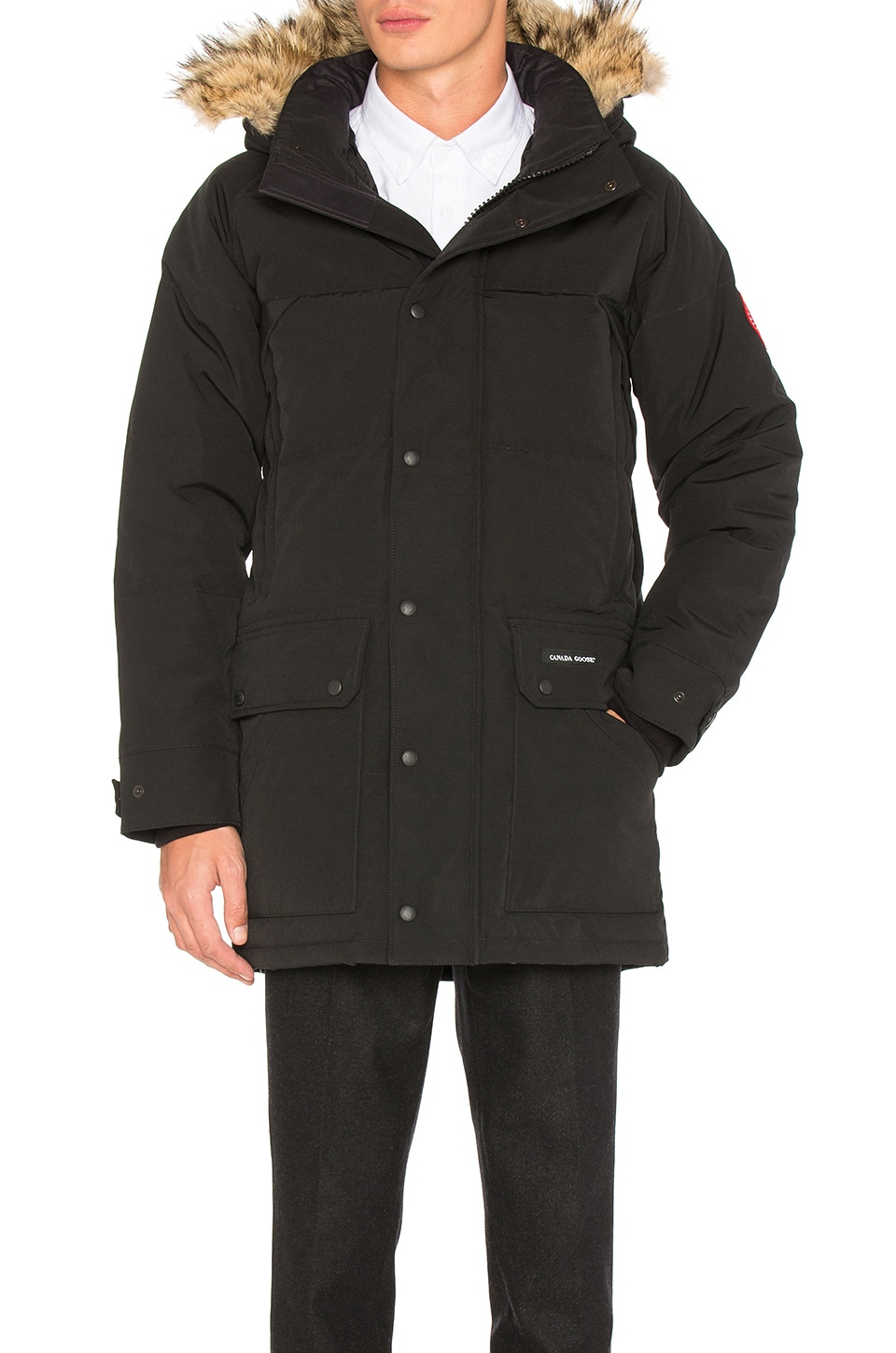 Emroy Coyote Fur Trim Parka by Canada Goose