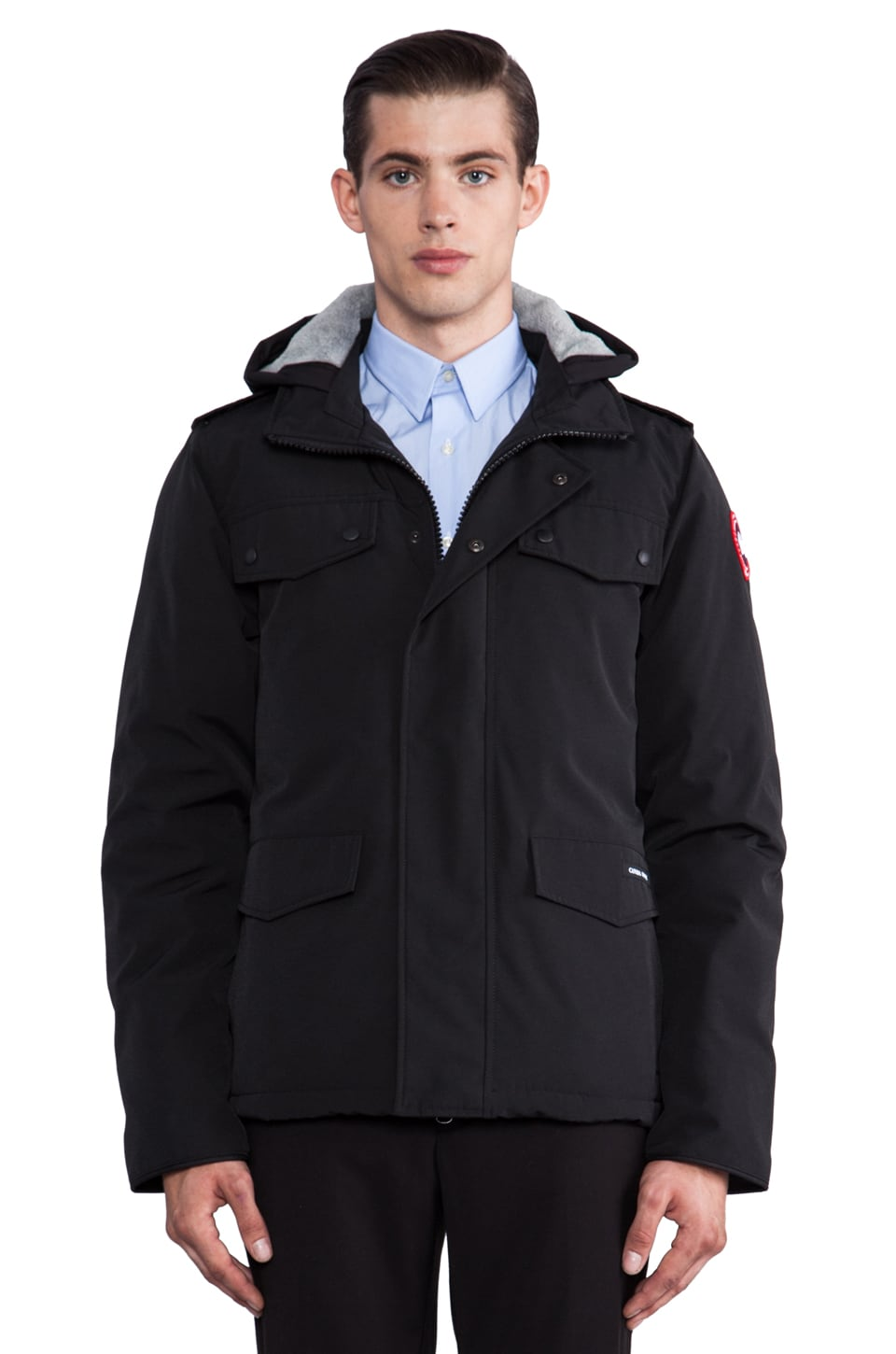 Canada Goose Burnett Jacket in Black