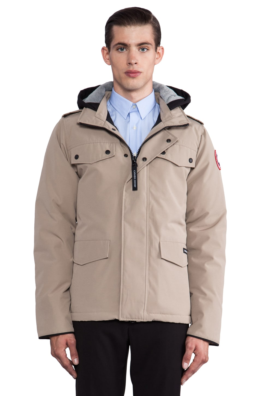 Canada Goose Burnett Jacket in Tan