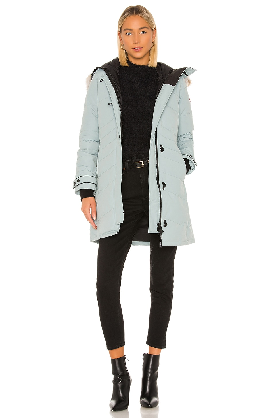 Canada Goose Accessories Lorette Parka with Removable Fur Ruff