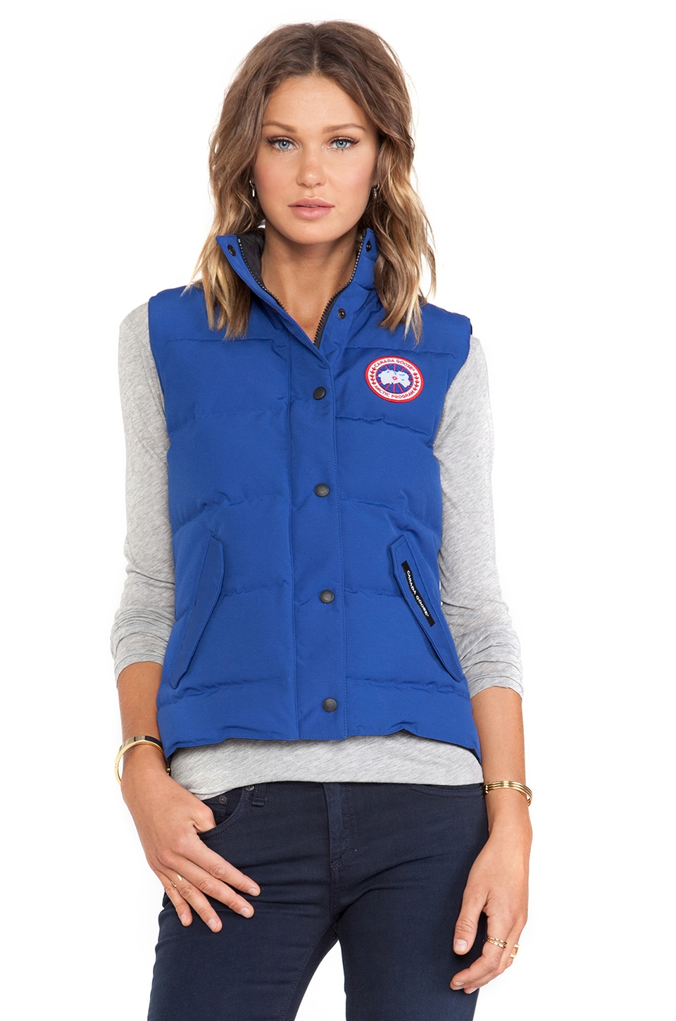 Canada Goose Freestyle Vest in Pacific Blue