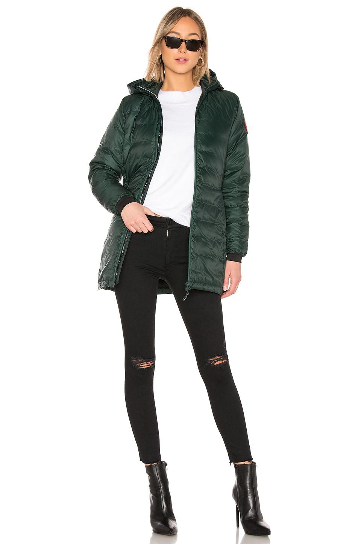 Canada Goose Camp Hooded Jacket in Black | REVOLVE
