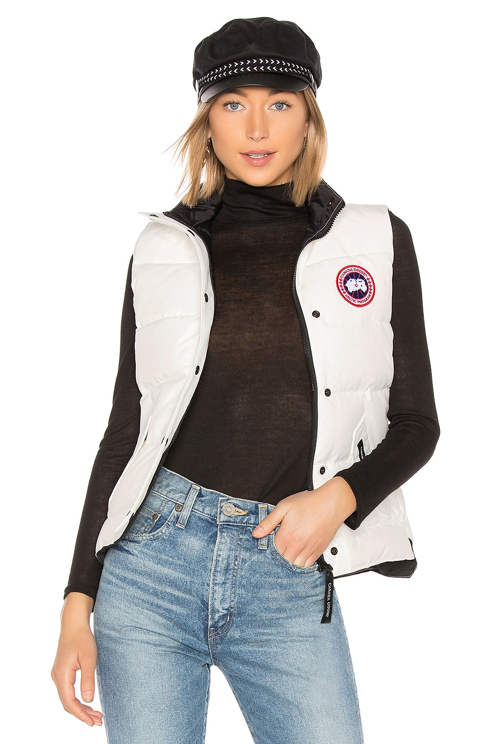 Canada Goose Freestyle Vest in Northstar White