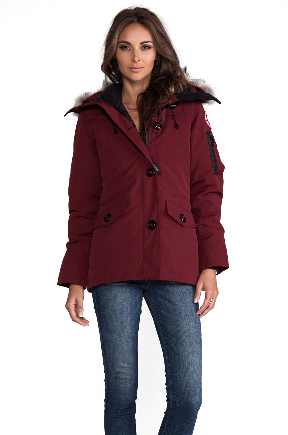 Canada Goose Montebello Parka in Niagara Grape
