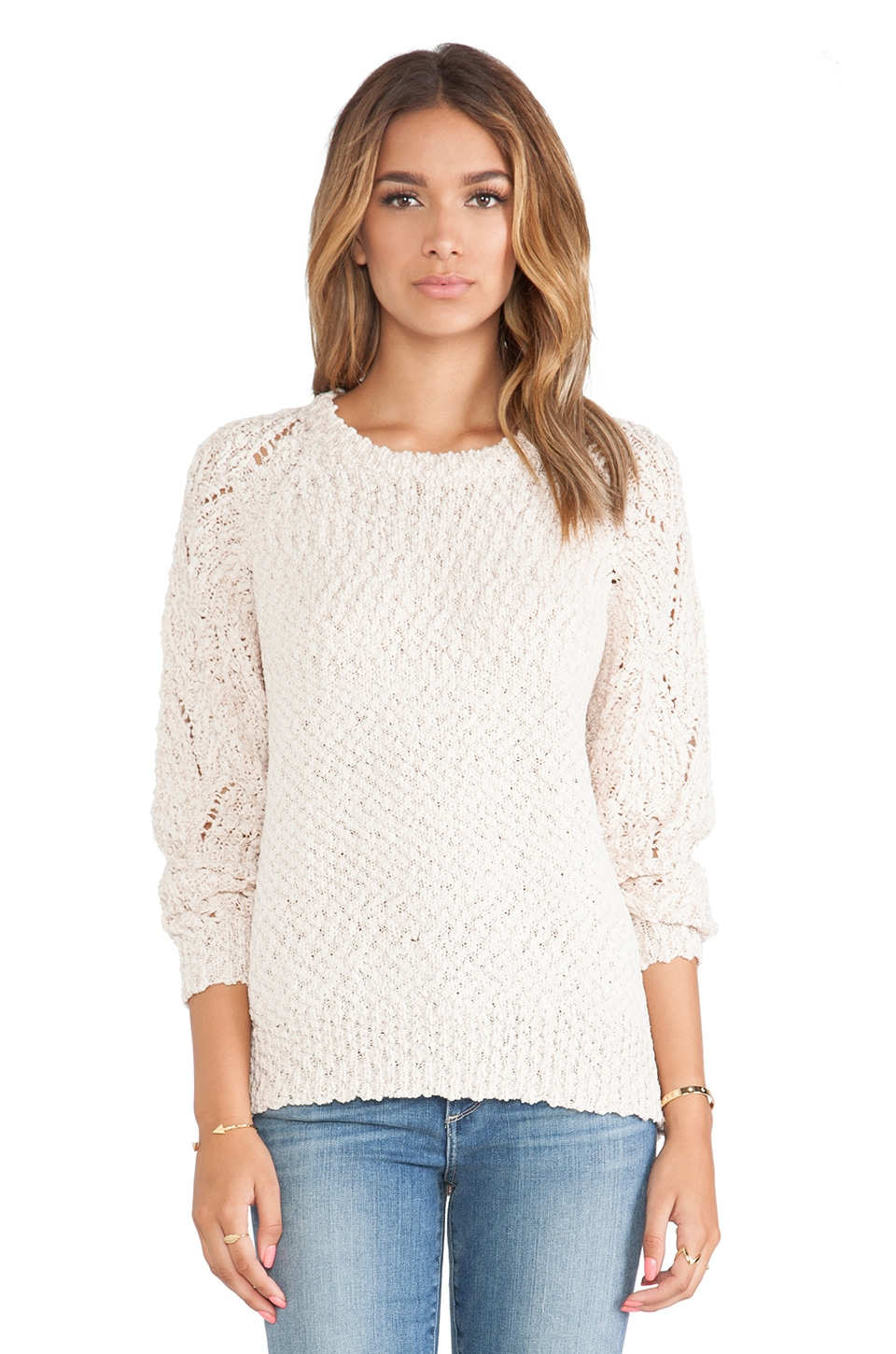 Candela Adriana Sweater in Blush