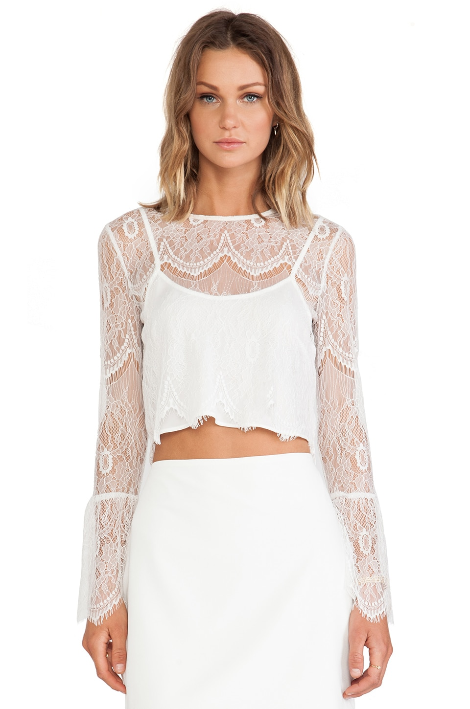 Candela Ariana Top in White