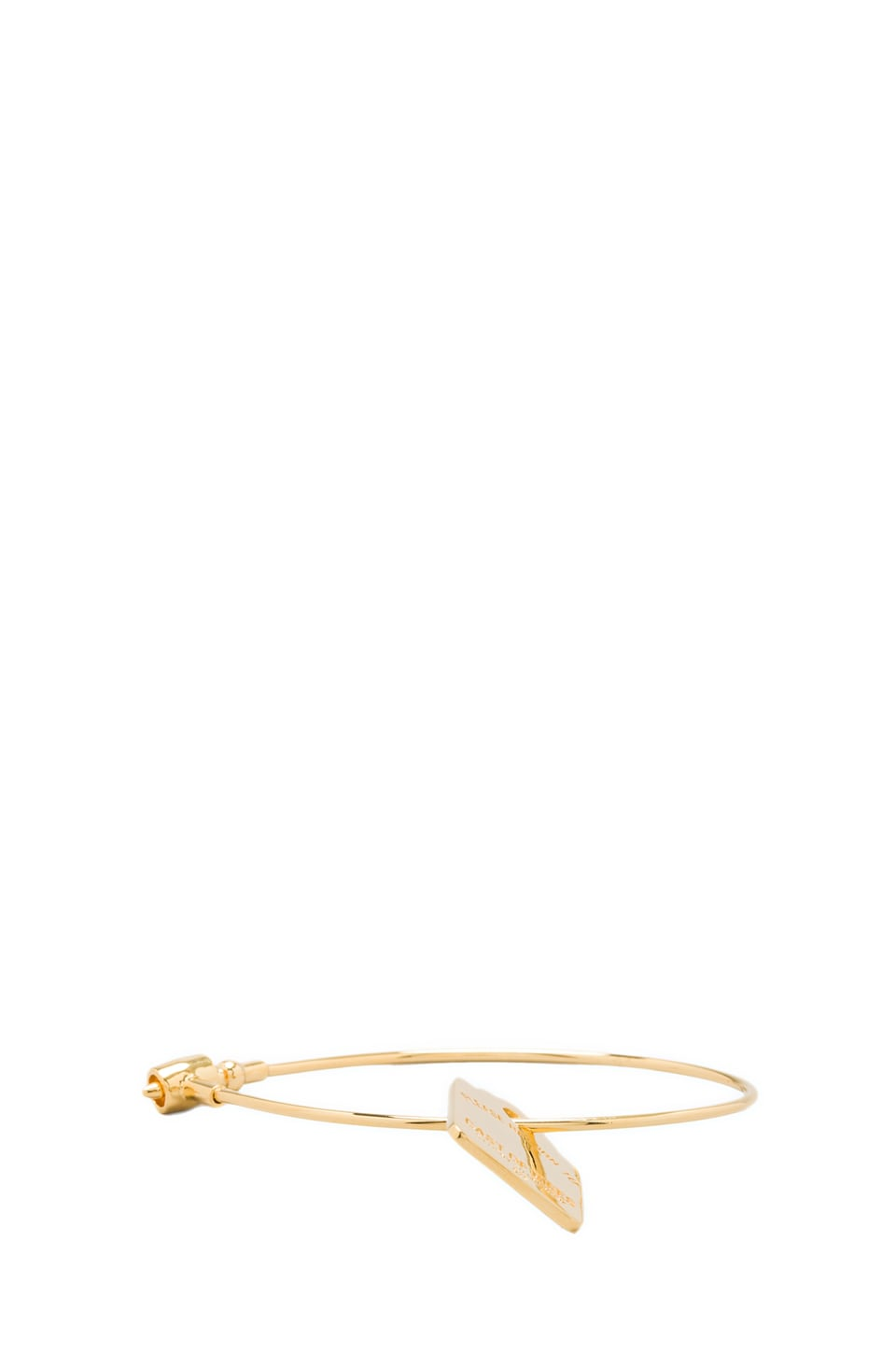 Cast of Vices Security Cable Bracelet in Gold