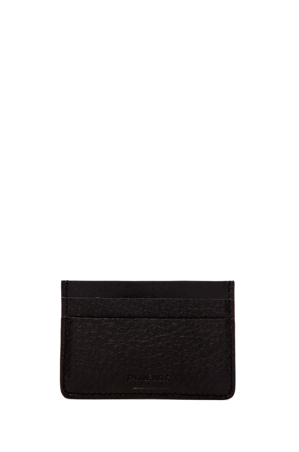 Cast of Vices Credit Card Wallet in Black