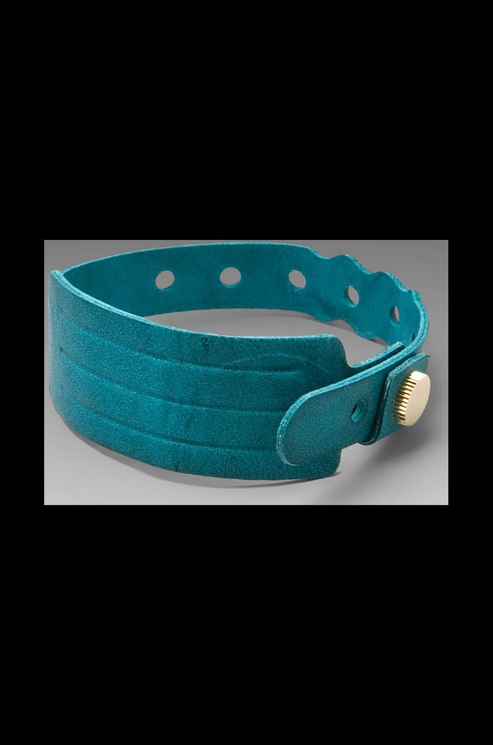 Cast of Vices 'Coming or Going' Medical ID Bracelet in Teal