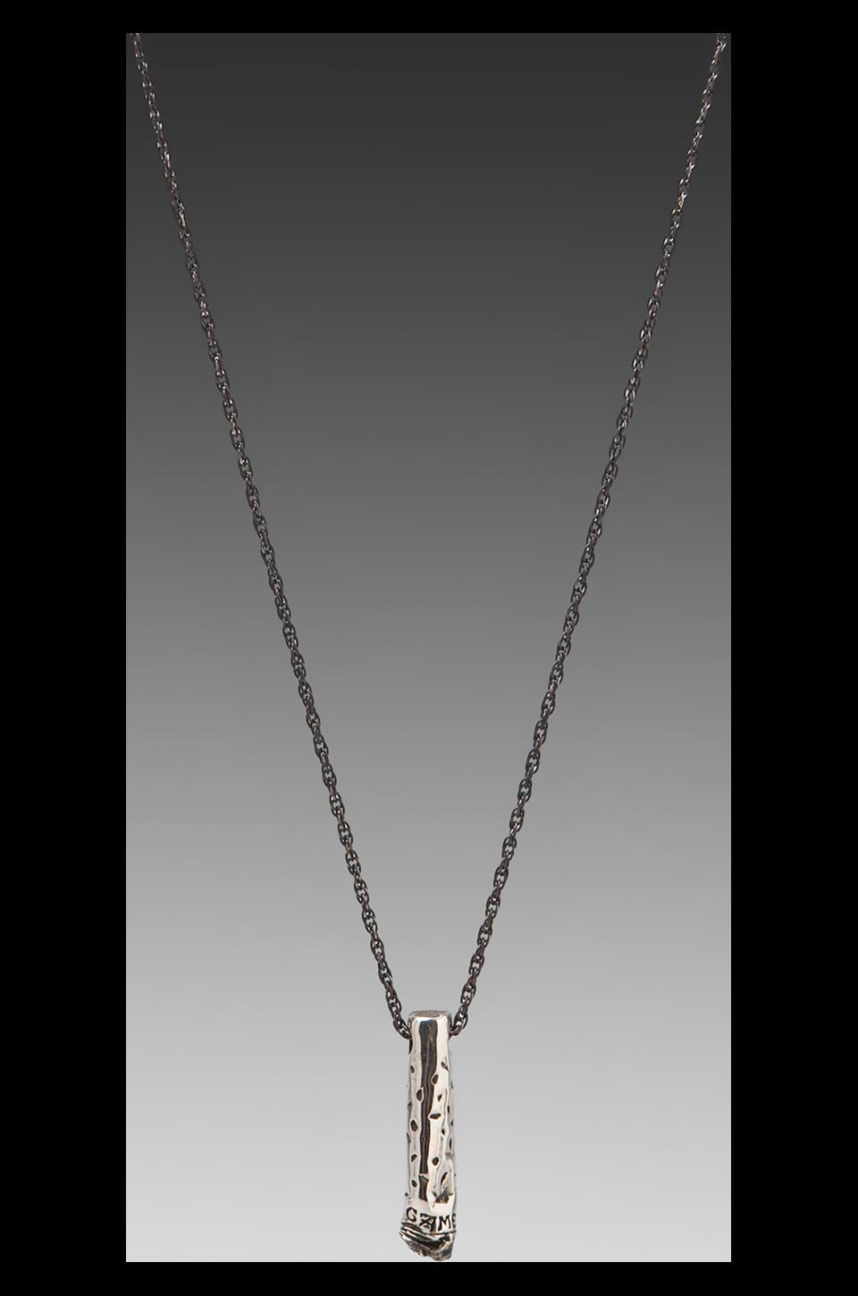 Cast of Vices Camel Necklace in Silver