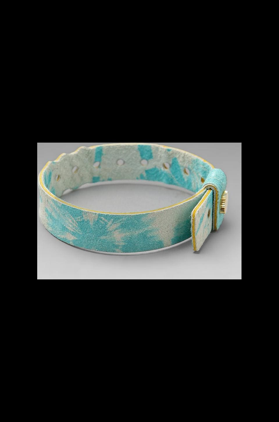 Cast of Vices Coming Or Going Concert Bracelet in Blue Tie Dye