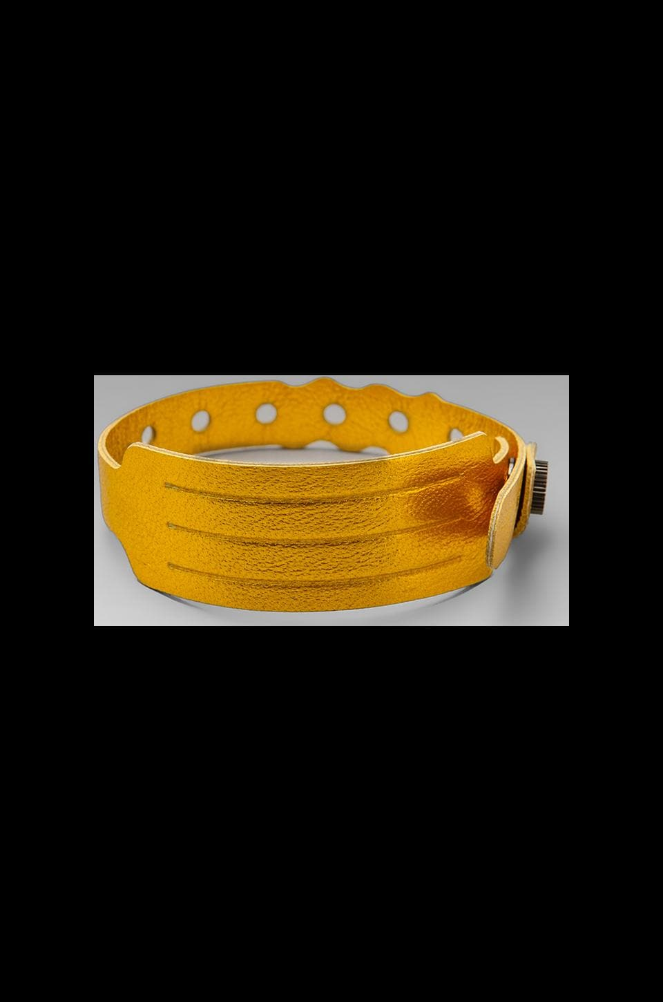 Cast of Vices Coming Or Going Medical ID Bracelet in Yellow