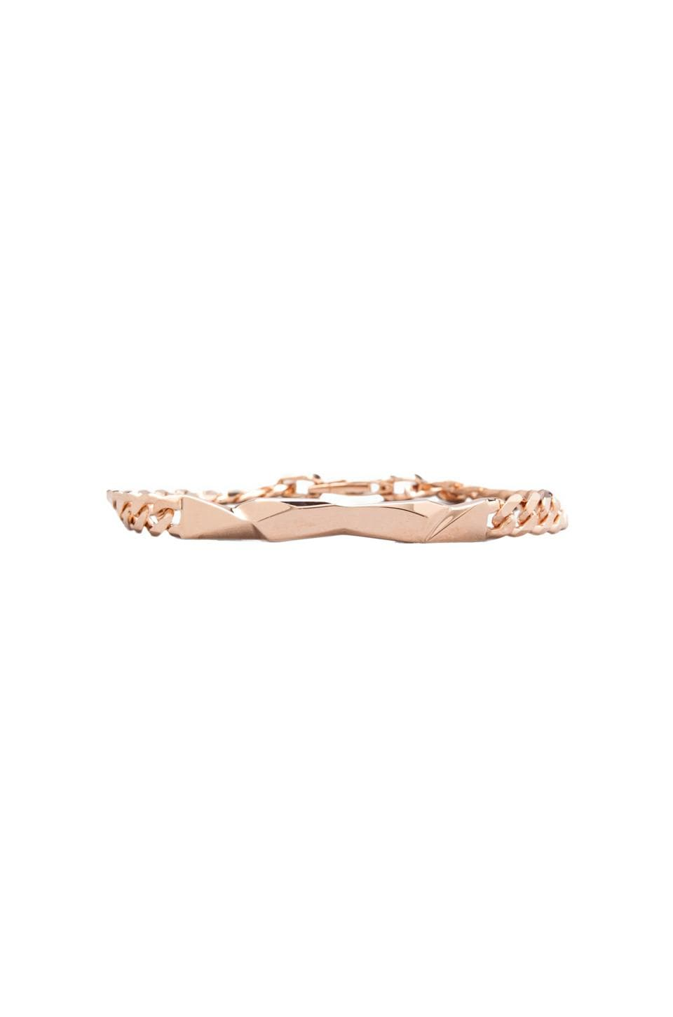 Cast of Vices Chain Bracelet in Rose Gold