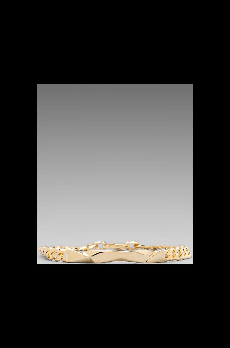 Cast of Vices Chain Bracelet in Gold