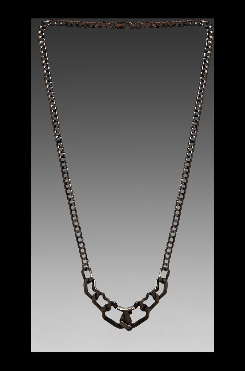 Cast of Vices Thick Chain Necklace in Black