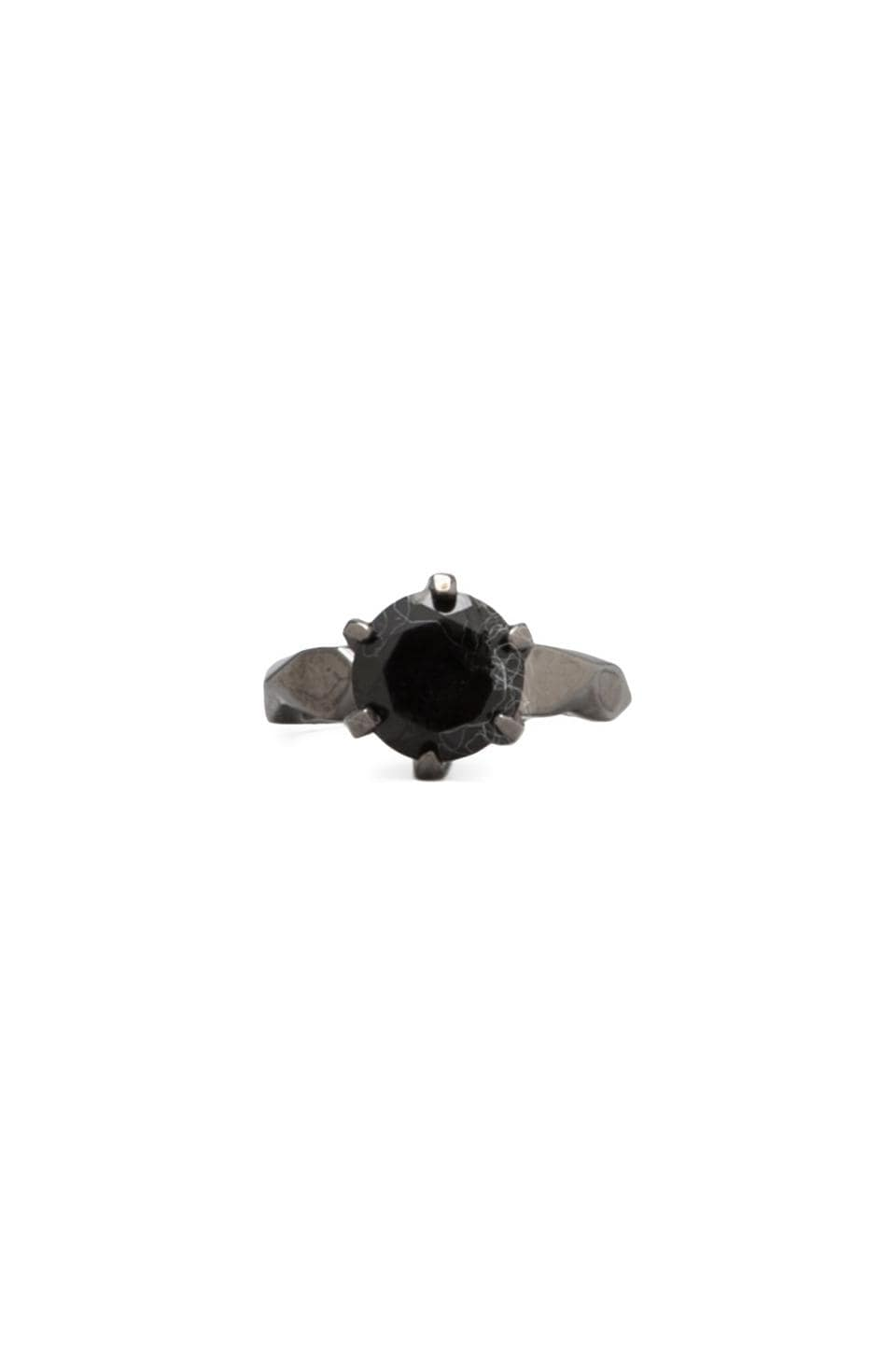 Cast of Vices Diamond Ring in Black