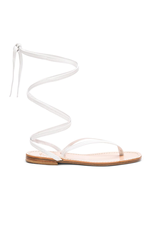 Capri Positano Amalfi Sandal in White