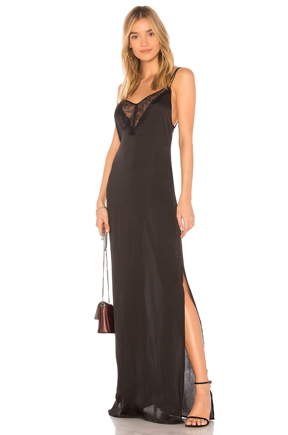 Capulet Marisa Maxi Dress in Black