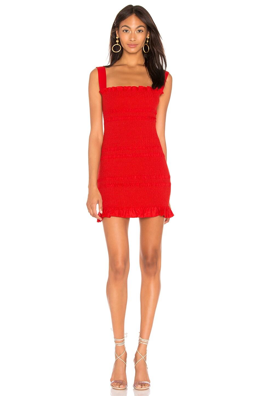 Capulet X REVOLVE Viviane Dress in Red