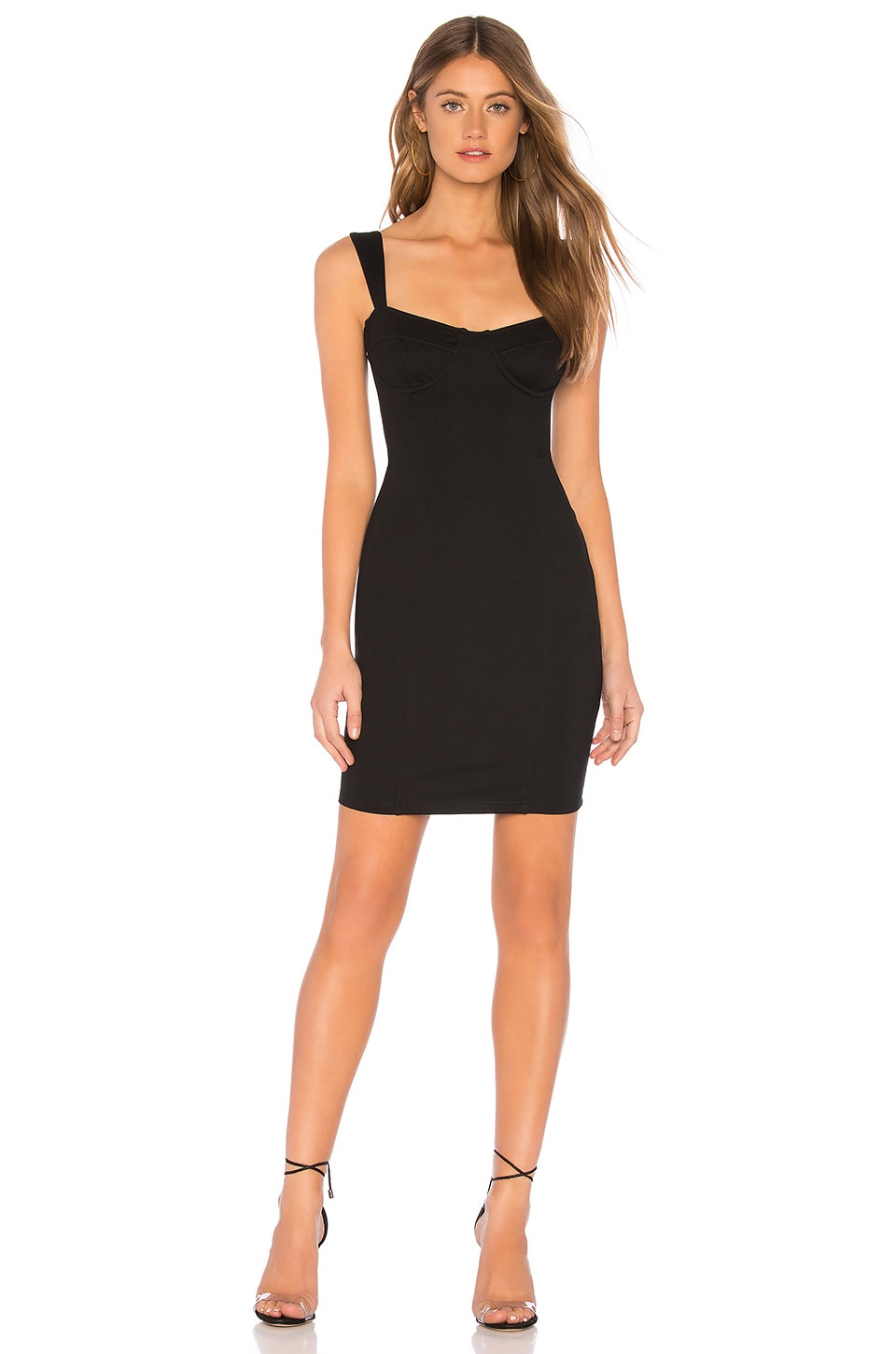 Capulet Bria Bustier Bodycon Dress in Black