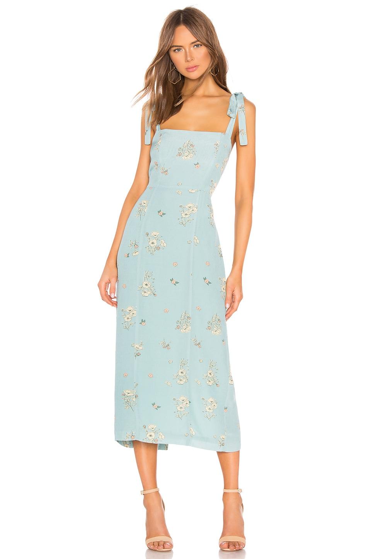Capulet Camille Midi Dress in Poppy Print