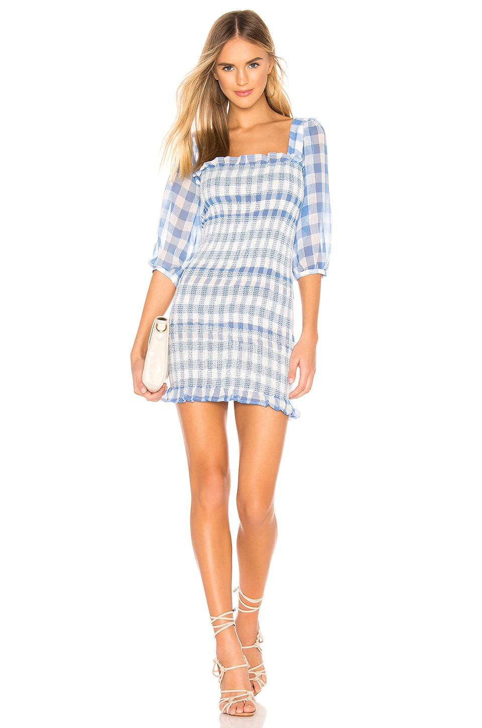Capulet Siobhan Dress in Blue Gingham