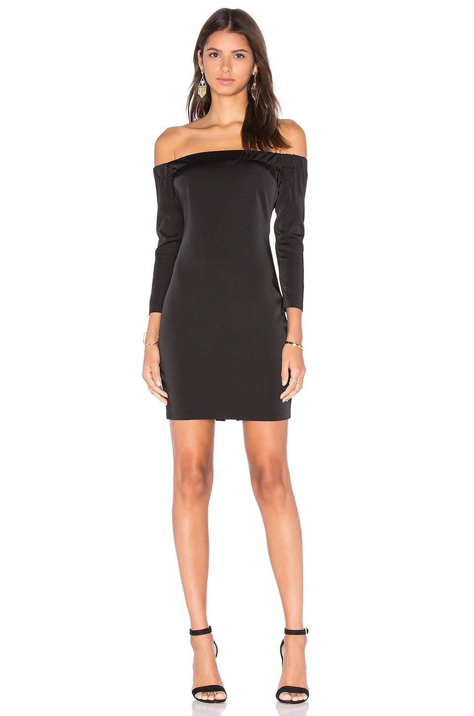 Shoulderless Bodycon Dress by Capulet