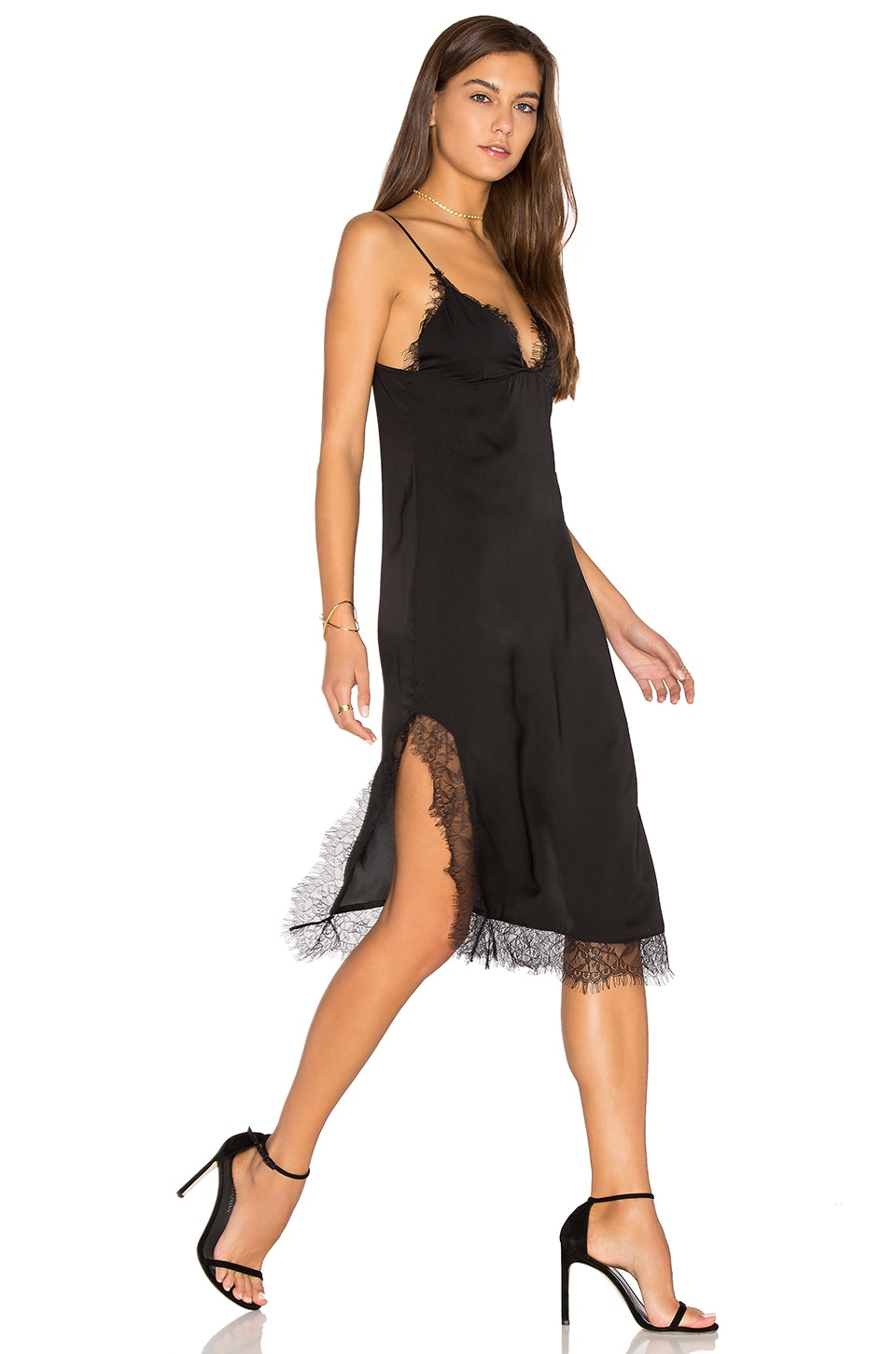 Parlour Lace Slip Dress by Capulet