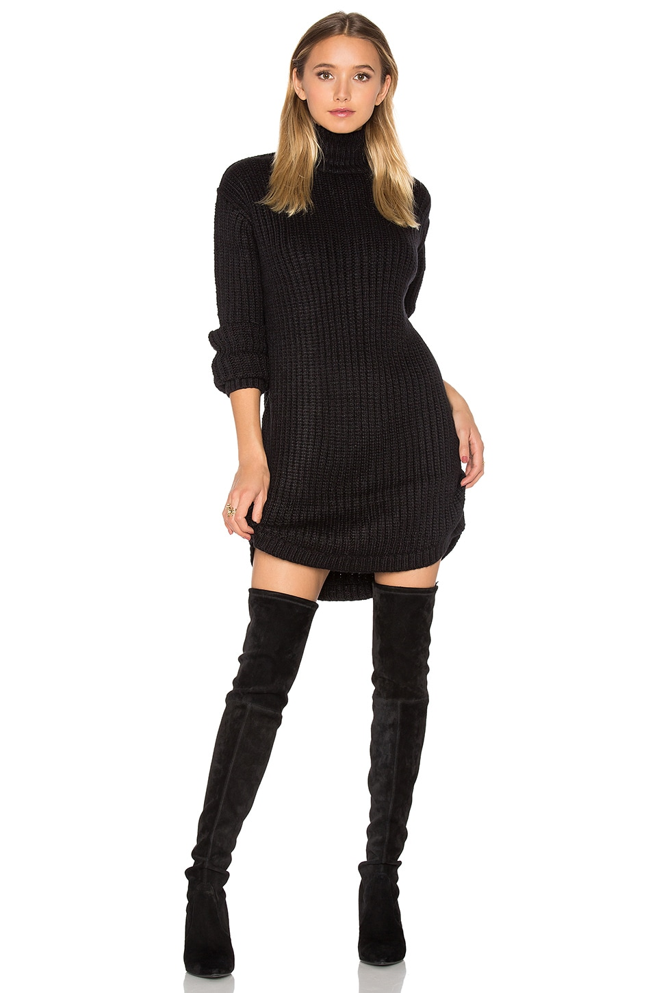 Capulet Neve Sweater Dress in Black