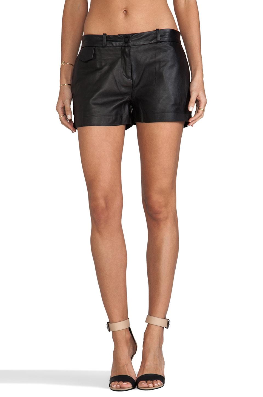 Capulet Leather Short in Black
